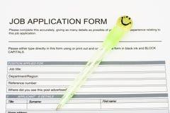 Job Application Royalty Free Stock Image