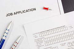 Job Application Stock Images