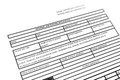Job Application Royalty Free Stock Photo