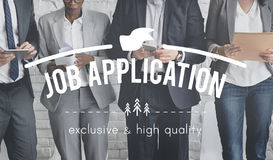 Job Application Activity Employment Expertise Concept Stock Photography