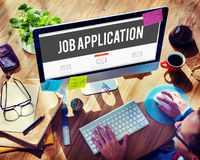 Job Application Career Employment Concept Royalty Free Stock Photography