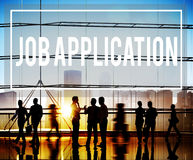 Job Application Career Employment Concept Fotografia Stock