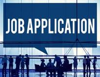Job Application Career Hiring Employment Concept Royalty Free Stock Photography