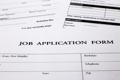 job application form stock image image of interview 36457063