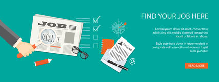 Job bank Royalty Free Stock Images