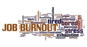 Job burnout Stock Image