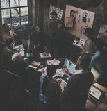 Job Career Casual Showing de trabajo Foto de archivo libre de regalías
