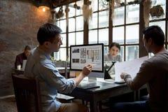 Job Career Casual Showing de trabajo Imagen de archivo libre de regalías