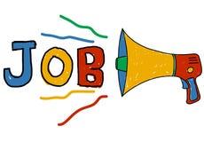 Job Career Occupation Recruitment Human-Ressourcen-Konzept Lizenzfreies Stockbild