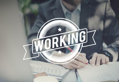 Job Career Occupation Working Concept Royalty Free Stock Images