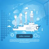 Job Career Template Web Banner avec l'espace de copie Photo libre de droits