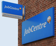 Job Center in Londen Stock Afbeelding