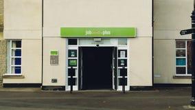 Job Centre in pozzi Somerset Immagini Stock Libere da Diritti