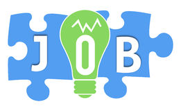 Job Colorful Shapes Royalty Free Stock Images