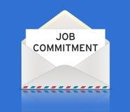 Job Commitment Imagen de archivo
