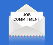 Job Commitment Stock Image