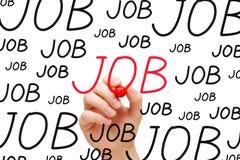 Job Concept Foto de archivo