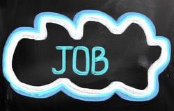 Job Concept Arkivbild