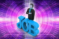 Job concept Royalty Free Stock Images