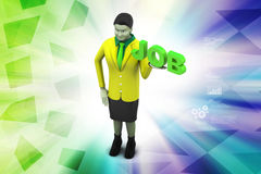 Job concept Stock Images