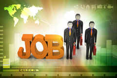 Job concept Stock Photography