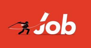 Job Cut Royalty Free Stock Photos