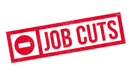 Job Cuts rubber stamp Stock Photo