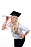 Job di ricerca laureato Immagine Stock Libera da Diritti