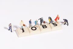 Job di Wordgames- Immagine Stock Libera da Diritti
