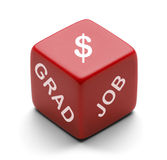 Job Dice Stock Photography