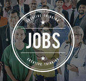 Job Employment Hiring Career Occupations-Konzept Lizenzfreie Stockfotos