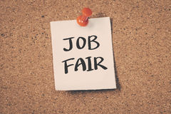 Job Fair Stock Image