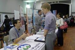 Job Fair em Vancôver Foto de Stock