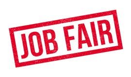 Job Fair rubber stamp royalty free illustration