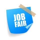 Job fair sticker Stock Photos
