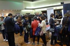 Job Fair in Vancouver Stock Photos