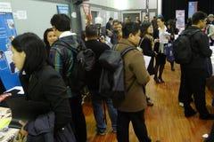 Job Fair in Vancouver Royalty Free Stock Photos