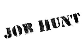 Job Hunt rubber stamp Stock Image
