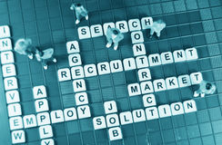 Job hunting Stock Photography