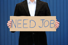 Job hunting Royalty Free Stock Photo