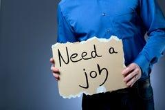 Job hunting Royalty Free Stock Photography