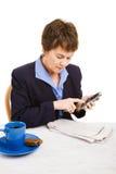 Job Hunting - Cold Call Stock Photography