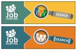 Job hunting concept Royalty Free Stock Photo