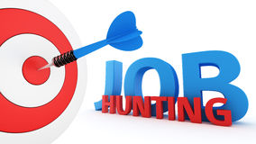 Job hunting concept Royalty Free Stock Photography