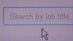 JOB HUNTING ONLINE - ECU Typing in many different job roles
