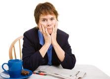 Job Hunting Over 40 Royalty Free Stock Image