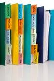 Job hunting records Royalty Free Stock Image