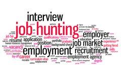 Job hunting Stock Photo