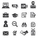 Job icon set. Web icon illustration design vector sign symbol Royalty Free Stock Photography
