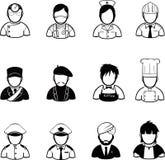 Job icon Royalty Free Stock Photos